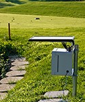 Time Lapse - BMW Golf Championship - Cog Hill Country Club - Outdoor Unit Installed at 18th Green - solar panel