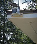 Time Lapse - Outdoor Unit Installed for Owners' Pavilion with solar panel - BMW Golf Championship - Cog Hill Country Club -