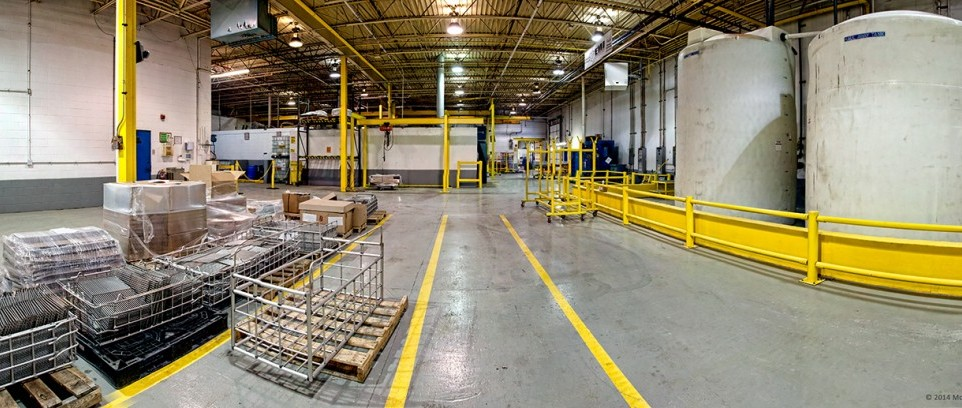 Industrial Photography - EMI - Electromax - panorama - HDR