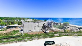 Time Lapse - Video - Zion Solutions - Zion Nuclear Power Plant - Spent Fuel Storage Facility - decommissioning and demolition