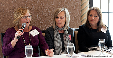 Women in Manufacturing - TMA - Annual Luncheon - Women at the Table - Hotel Baker - McLaren Photographic - industrial manufacturing video production