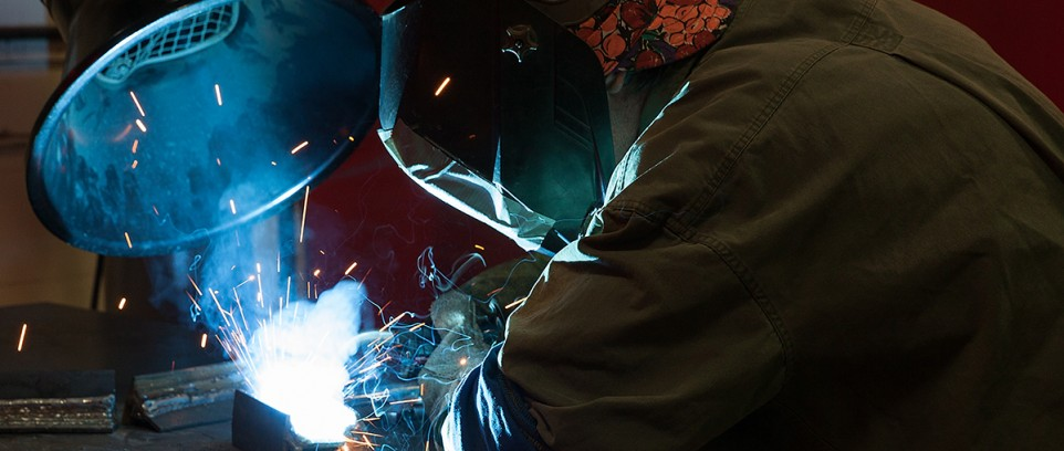 Industrial Photography - welding training - College of DuPage - Jane Addams Resource Corporation - manufacturing - industry - careers - training - education - skills - McLaren Photographic