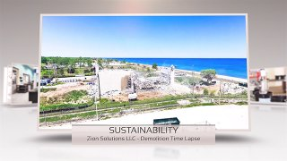 Time Lapse – Zion Nuclear Power Plant Demolition